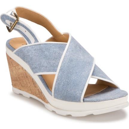 Miss F Ds17076 Mavi Kadın 545 Ayakkabı