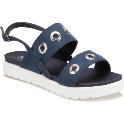 Butigo S882 Lacivert Kadın Sandalet
