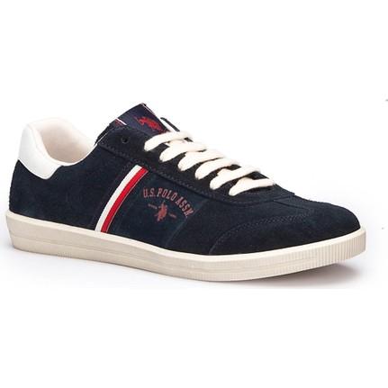 U.S. Polo Assn. Phuket Lacivert Erkek Deri Sneaker