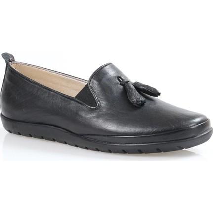 Darkwood Ortapedik Deri Bayan Günlük Ayakkabı