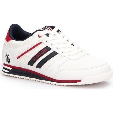 U.s. Polo Assn. Keny Beyaz Kadın Sneaker