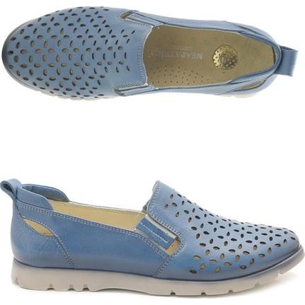 Neopatriça 0320 Hakiki Deri Günlük Bayan Ayakkabı