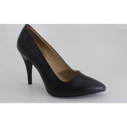 Despina Vandi Tnc 232-1 Günlük Siyah Kadın Stiletto Ayakkabı