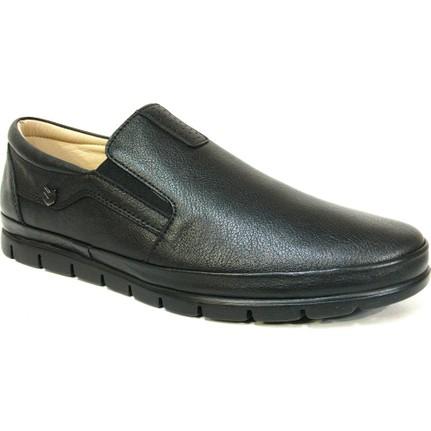 Nobilta 4721 Siyah Bağcıksız Comfort Erkek Ayakkabı