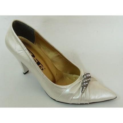 Punto 54205 Kırık Beyaz Kadın Stiletto Ayakkabı