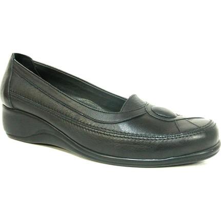 Elçin Kahverengi Bayan Ortopedik Ayakkabı