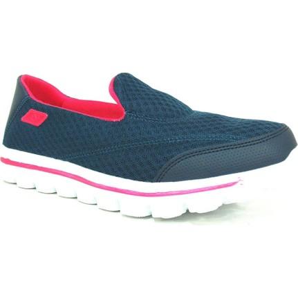 Nstep Victoria Lacivert Fuşya Comfort Bayan Spor Ayakkabı