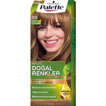 Palette Doğal Renkler 7 5 Açık Karamel Saç Boyası Fiyatı