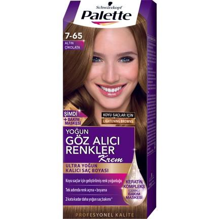 Palette Yoğun Göz Alıcı Renkler 7 65 Altın çikolata Fiyatı