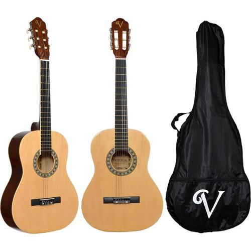 Victoria Klasik Gitar Seti Kılıf ve Pena Hediyeli 3/4 CG160N