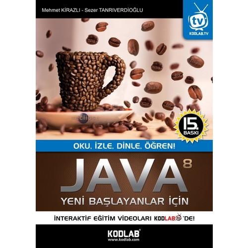 Yeni Başlayanlar İçin Java 8