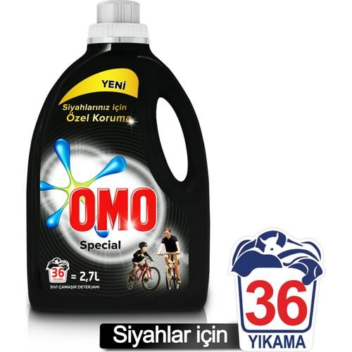 Omo Sıvı Çamaşır Deterjanı Black 2700 ML