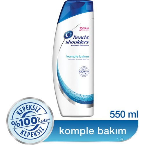Head & Shoulders Şampuan Komple Bakım 550 ml