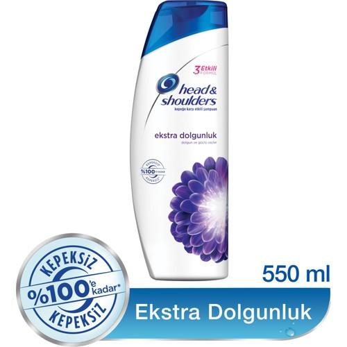 Head & Shoulders Şampuan Ekstra Dolgunluk 550 ml