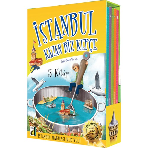 İstanbul Kazan Biz Kepçe (5 Kitap)