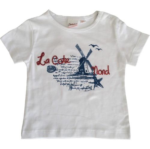 Zeyland Kız Çocuk Beyaz Bluz Cmn55