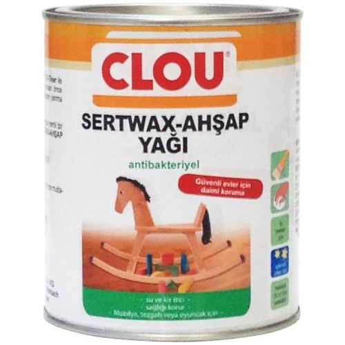 Clou Sert Wax Antibakteriyel Ahşap Yağı 750 Ml