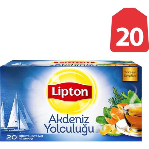 Lipton Bardak Poşet Bitki Ve Meyve Ça Akdeniz Yolculuğu 20'Li