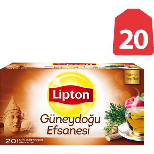 Lipton Bardak Poşet Bitki Ve Meyve Ça Güneydoğu Efsanesi 20'Li