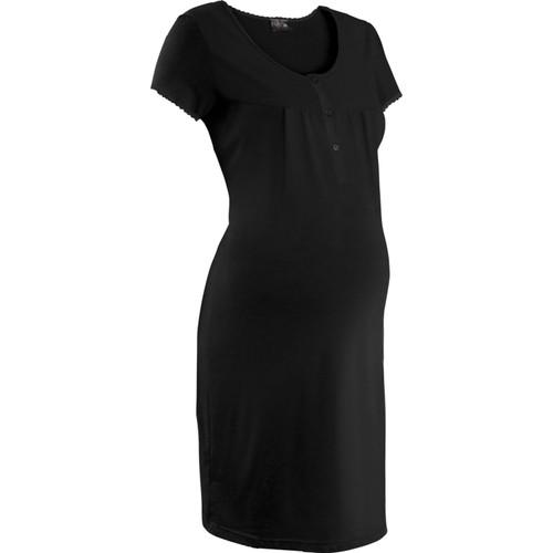 bonprix Nice Size Siyah Hamile Giyim Gecelik 34-54 Beden