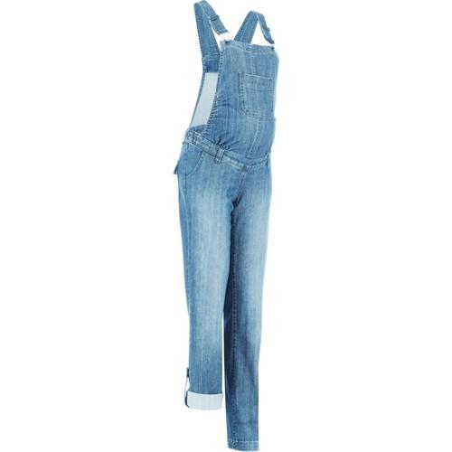 bonprix Mavi Hamile Giyim Jean Tulum Düz Paça 34-54 Beden