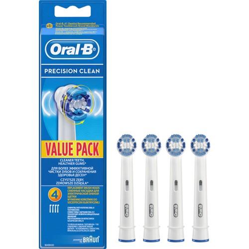 Oral-B Diş Fırçası Yedek Başlığı Precision Clean EB20 4 Adet