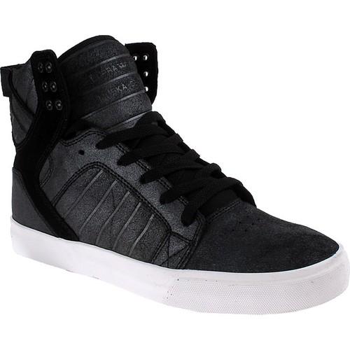 Supra Skytop S18245 Erkek Ayakkabı Black Metallıc Whıte