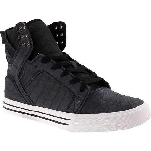 Supra Skytop S18247 Erkek Ayakkabı Black Whıte Whıte