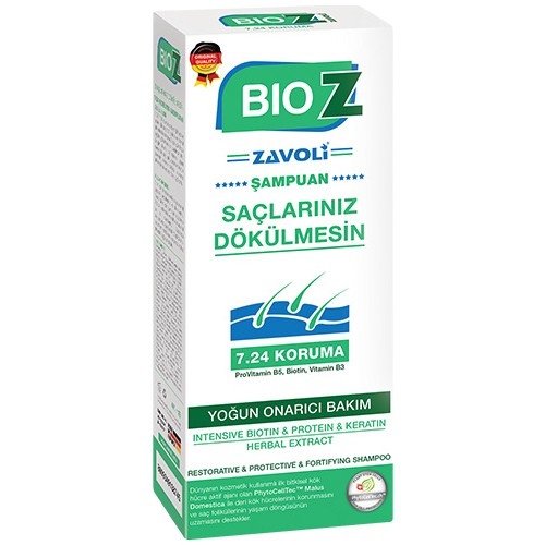 Bioz Yoğun Onarıcı Şampuan 400 Ml