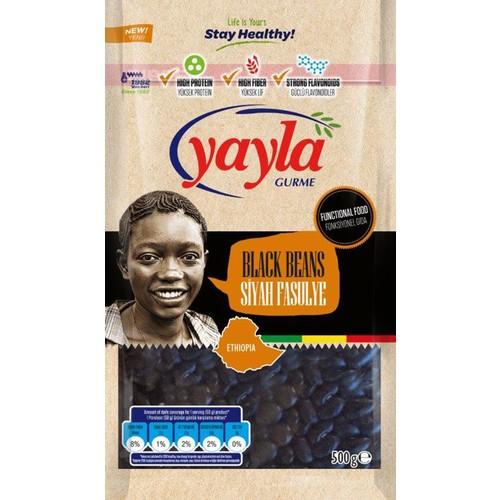Yayla Gurme Siyah Fasulye 500 gr