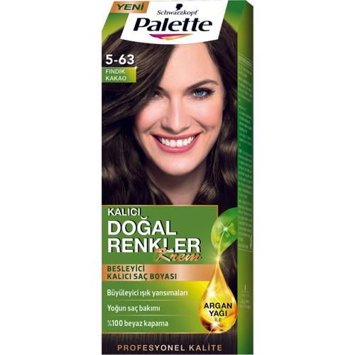 Palette Saç Boyası Naturel 5-63 Fındık Kakao