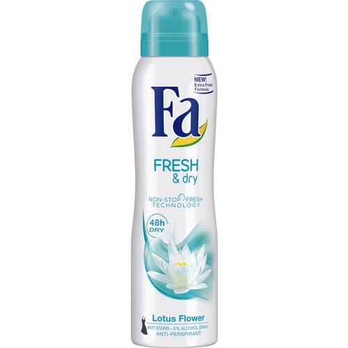 Fa Deospray Fresh&Dry Lotus 150ml