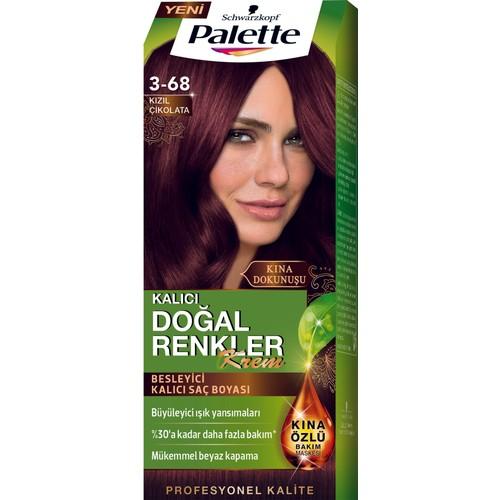 Palette Natural Colors 3.68 Kızıl Çikolata Saç Boyası