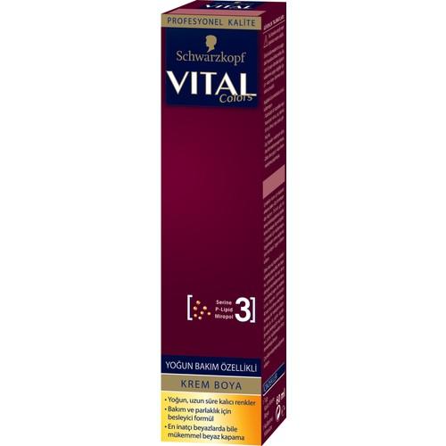 Vital Tüp Boya 5-0 Açık Kahve