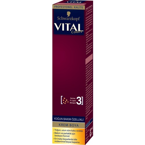Vital Colors Koyu Fındık Kabuğu 7-65