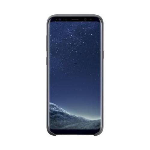 Samsung Galaxy S8 Plus Silikon Kılıf Gri - EF-PG955TSEGWW