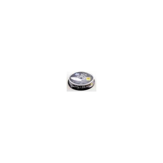 Hp Bd-R Blu-Ray 25Gb 10 Lu Cakebox