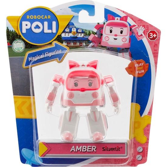 Robocar Poli Hareketli Figür Amber