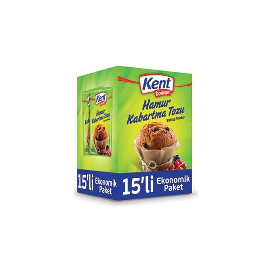 Kent Boringer hamur Kabartma Tozu 10+5&#39Li Ekonomik Paket