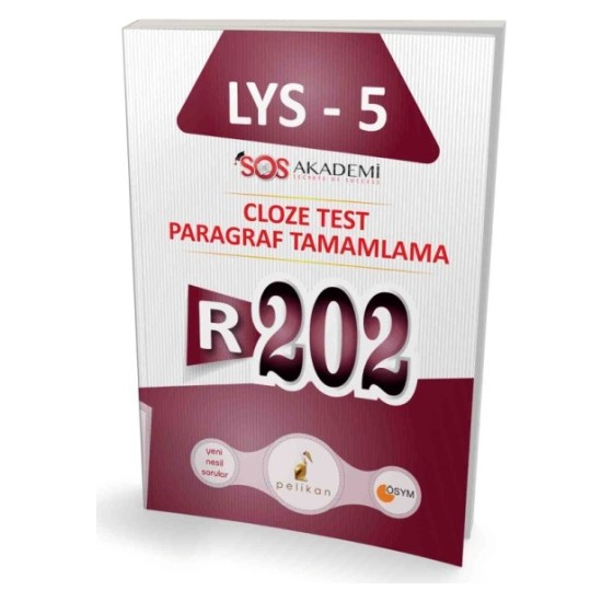 İngilizce Lys-5 R202 Cloze Test Paragraf Tamamlama