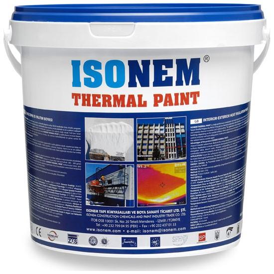 İsonem Thermal Paint İç Ve Dış Cephe Isı Yalıtım Boyası 10 L