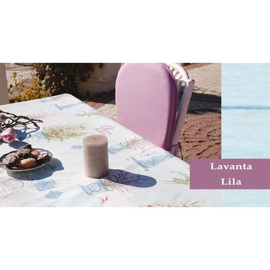Soley Bahçe Masa Seti - Lavanta Lila