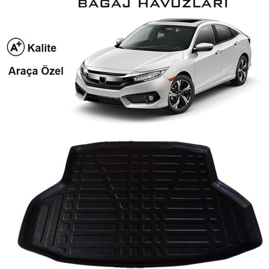 Honda Civic Sedan 2016 ve Sonrası 3D Bagaj Havuzu