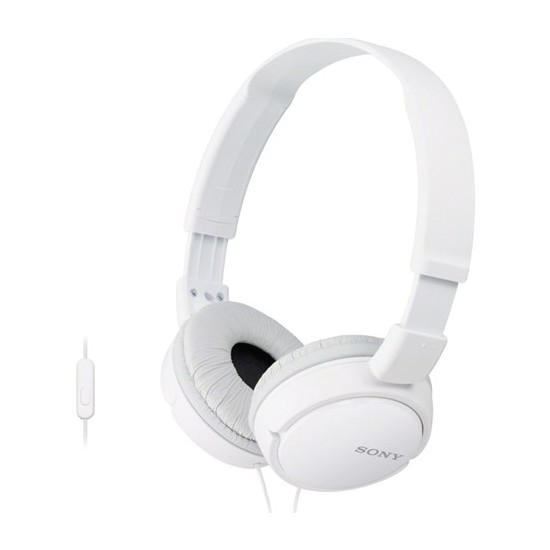 Sony MDR-ZX110APW Beyaz Kulaküstü Mikrofonlu Kulaklık