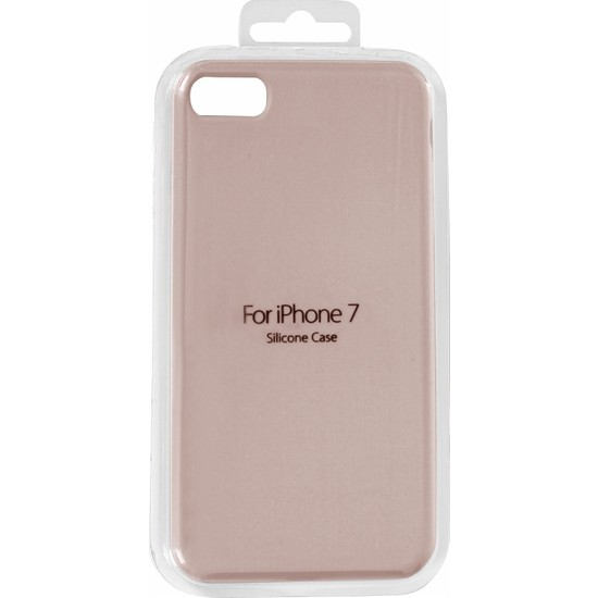 VPW iPhone 7 Silicone Pembe Kılıf - VPW SRP-44