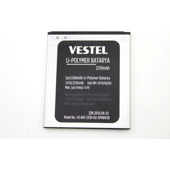 Vestel Venüs V3 5010 Batarya Pil