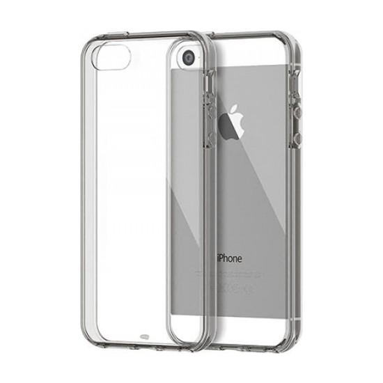 Addison Ip-668S Gümüş İphone 5S Yumuşak Koruma Kılıfı