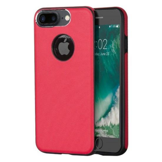 Addison Ip-701 Kırmızı İphone7 Plus Damla Serisi Manyetik Koruma Kılıfı