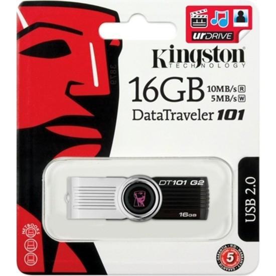 Kingston 16 Gb Usb2.0 Memory Dt101G2/16Gb