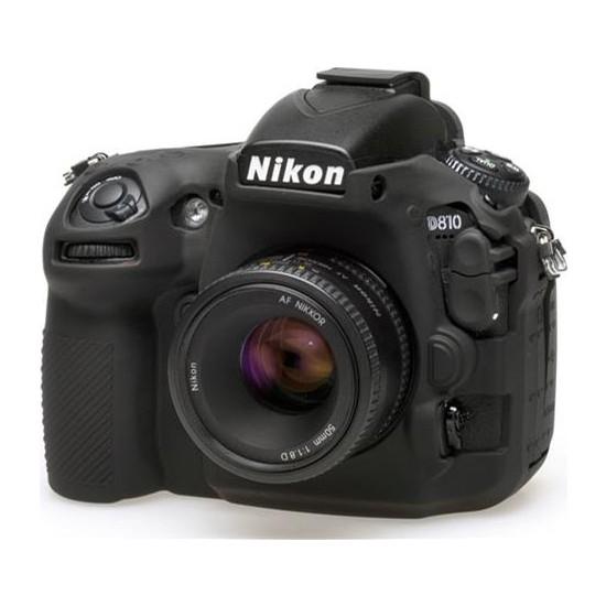 Nikon D810 Siyah EasyCover (Silikon Kılıf)